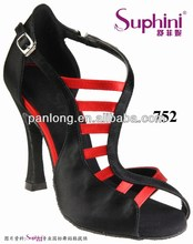 Free Shipping Suphini New Arrival Elegance Ladies Straps Latin Dance Salsa Dance Shoes