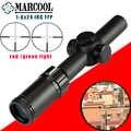 MARCOOL оптический прицел 1-6X24 IRG 1 клик 1/2 MOA охотничий прицел тактический оптика прицел на открытом воздухе военный качество