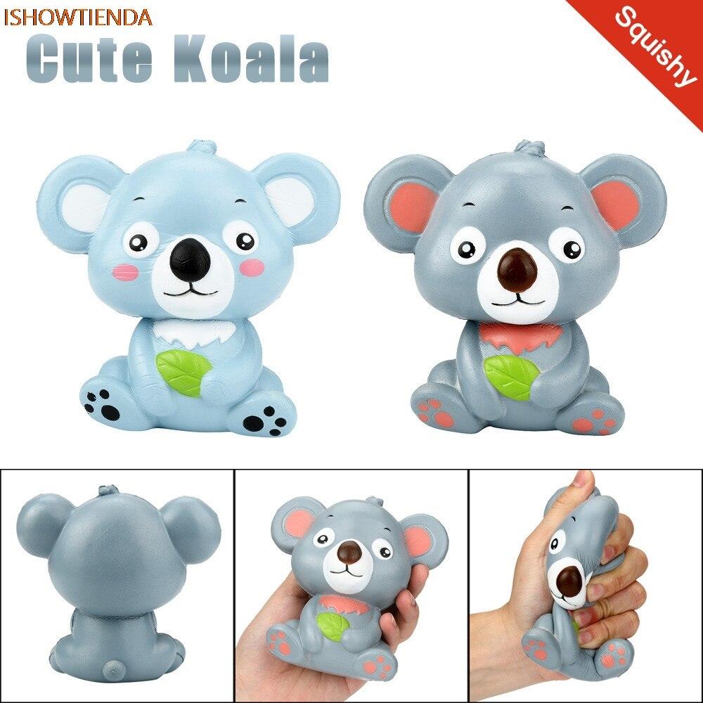 Baru 12 Cm Lucu Koala Cream Beraroma Empuk Mainan Lambat Naik Foto 1