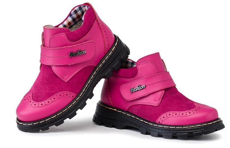 big girls boots genuine leather suede winter footwear for. Black Bedroom Furniture Sets. Home Design Ideas
