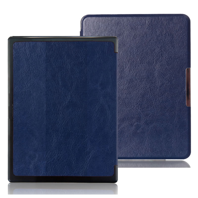 PU Leather Cover Case for Kobo Aura H2O 6.8 Ereader E-book 8 Colors in Stock + Screen Protector + Stylus Pen электронная книга lotte 6 8 kobo aura h2o