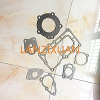 Free Shipping Hangkai Outboard 2 Stroke 6 0 HP Paper Gasket Cylinder Head Cover Gasket Set
