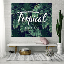 Mandala Indian Tapestry Wall Hanging Bohemian Beach Towel Digital Printing Blanket Plant Series