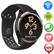 Gps smart watch echtzeit-herzfrequenz zw58 smartwatch wifi 3g sim karte bluetooth headset schrittzähler fitness tracker multi-sprache