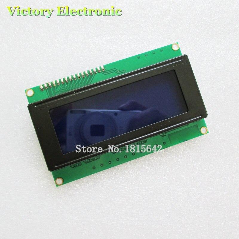 Neue IIC/I2C 2004 5 V 20X4 Lcd-modul Bluescreen Weiß Code LCD Board Bietet Bibliothek dateien M
