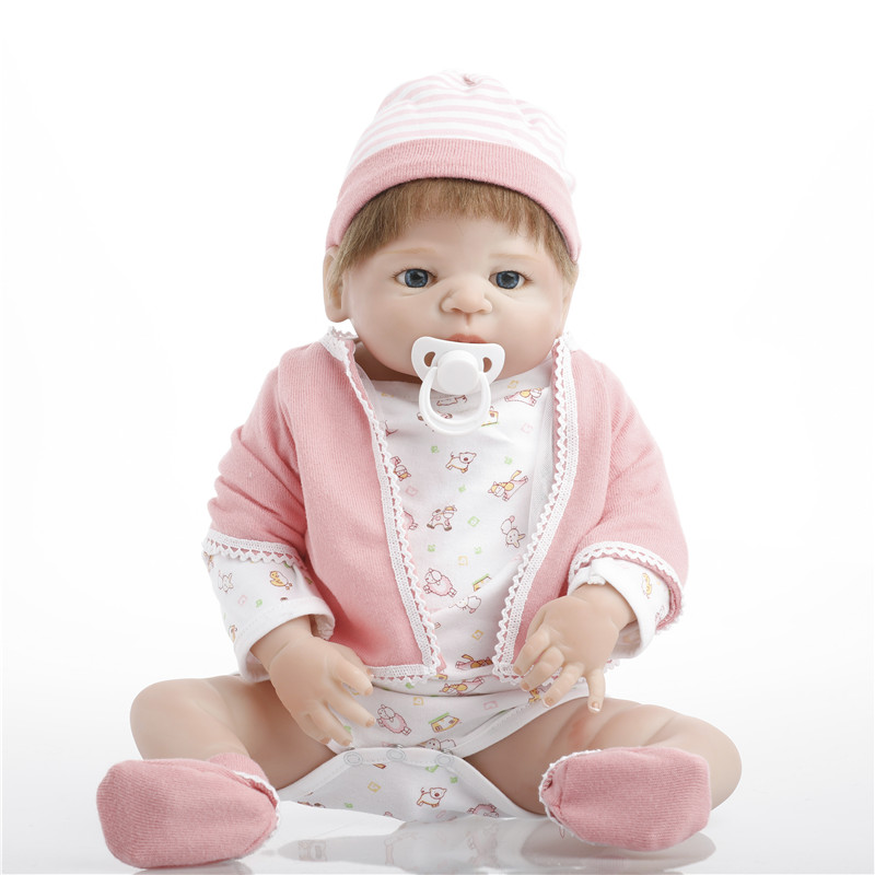 SanyDoll 22 inch 55 cm Silicone reborn dolls, lifelike doll reborn Beautiful dolls birthday giftSanyDoll 22 inch 55 cm Silicone reborn dolls, lifelike doll reborn Beautiful dolls birthday gift