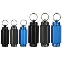 Outdoor Medicine Bottle Aluminum Alloy Lantern Shape Sealing Warehouse Waterproof Aluminum Pill Box Outdoor Tools