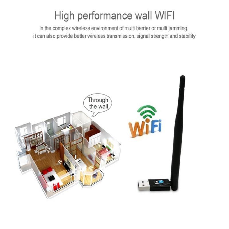 ZAPO Bluetooth 4.0 Wireless USB 802.11n Hinzufügen von 2,4 GHz 150 - Netzwerkausrüstung - Foto 3
