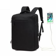 SENKEY Style Для мужчин рюкзак женский большой Ёмкость нейлон зарядка через usb Рюкзак 15,6 дюймов ноутбук рюкзак женский мочила школьные ранцы