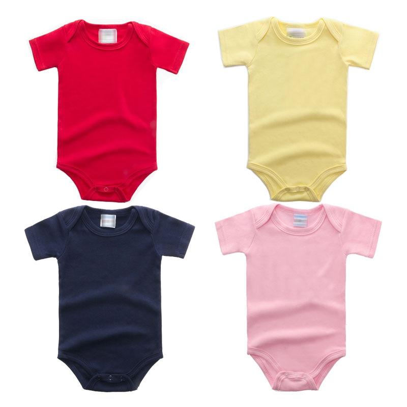Baby Rompers Newborn 2018 Baby Boy Աղջիկների հագուստ - Հագուստ նորածինների համար - Լուսանկար 2