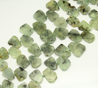 Full strand Lớn Slab Vàng Quartz Loose Hạt Miếng Đệm DIY Necklace, Đá Tự Nhiên Nguyên Crytals Slice Charms Mặt Dây Trang Sức