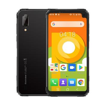 Перейти на Алиэкспресс и купить Blackview BV6100 IP68 Водонепроницаемый смартфон 3 ГБ + 16 Гб 6,8 дюймсевере 18:9 MT6761 4 ядра 2,0 ГГц 16.0MP Android 9,0 NFC 5580 мАч OTG
