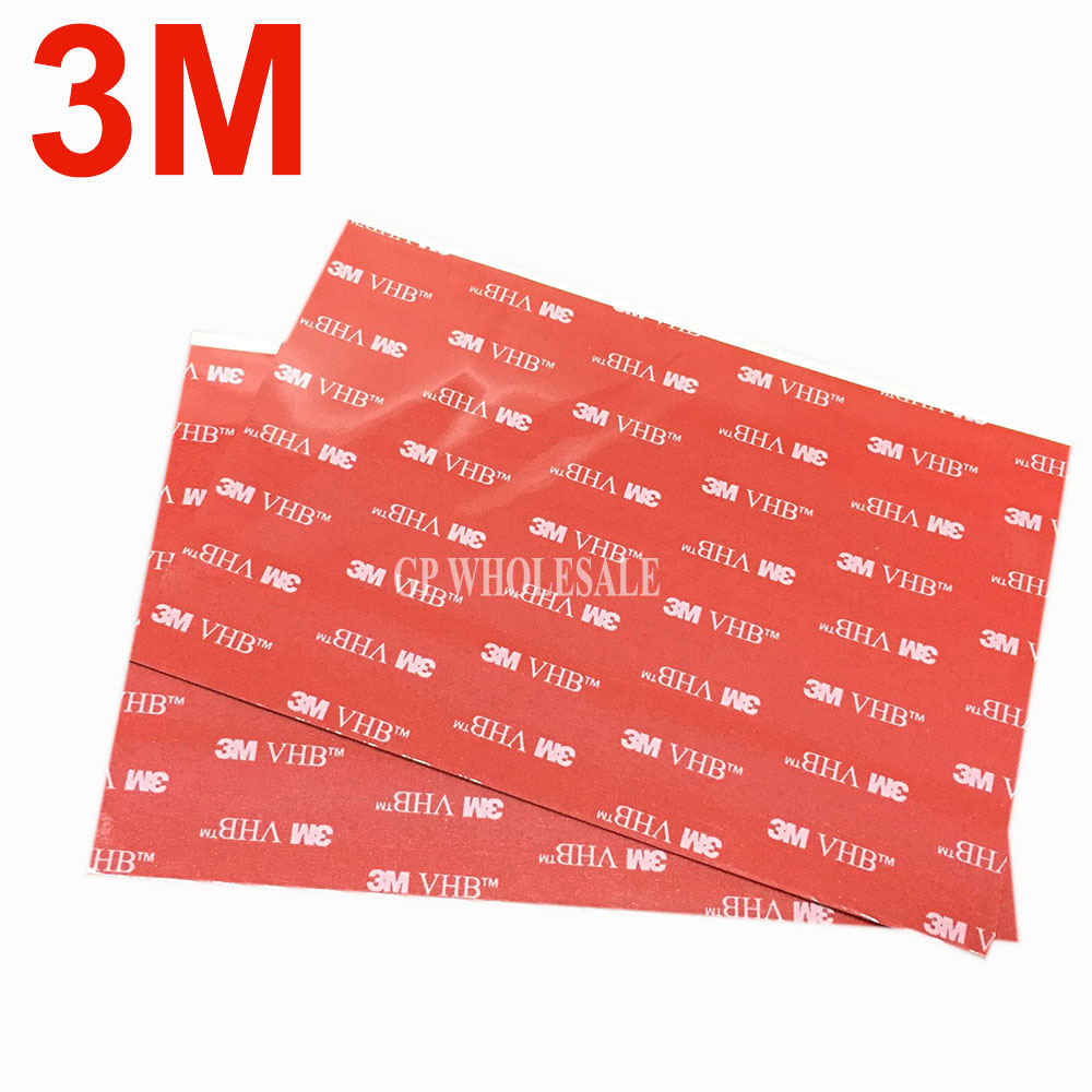1piece 3M VHB 5952 Heavy Duty Double Sided Adhesive Acrylic Foam Tape Black 150mmx100mmx1.1mm hp q7583a magenta