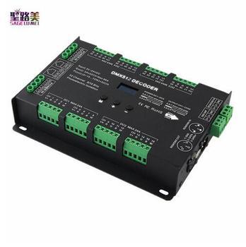 BC-632 DC5V-24V DMX Tegangan Konstan 32CH/RDM driver 3A * 32CH decode output DMX512 rgbw Controller Untuk RGB RGBW Led Strip lampu