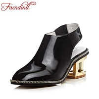FACNDINLL Ladies Square Toe Soft Leahter Fretwork High Heels Pumps Casual Shoes 2017 Newest Woman S
