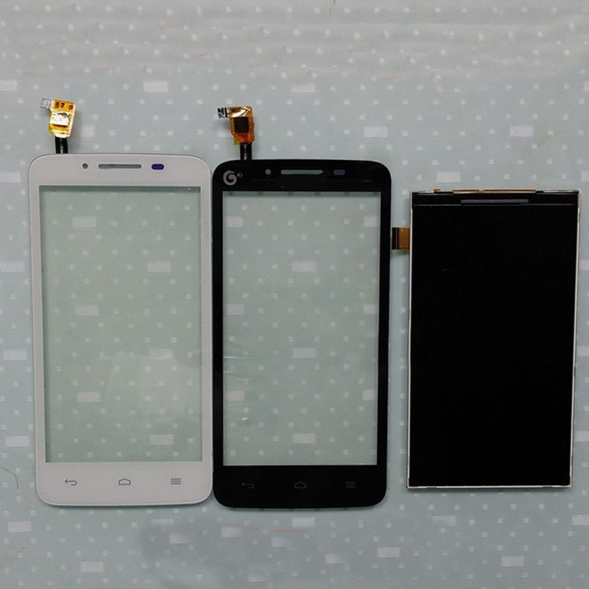 De calidad superior negro/blanco de la pantalla táctil del digitizador + lcd dis