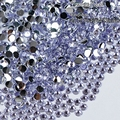 1000 pcs 3mm Light Purple 14 Facets Resin Round Rhinestone Sparkling Rhinestones Nail Art Decoration DIY N16