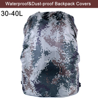 High Quality 30 40L Waterproof Backpack Covers Rain Cover New Military Backpack Cover For Outdoor Camping