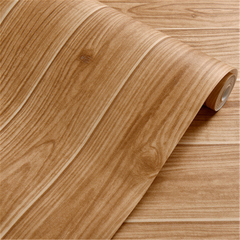 Beibehang Wallpaper Chinese Vintage Simulation Of Wood Grain Wood