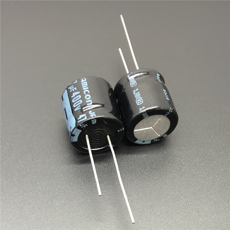 5Pcs/20Pcs 47uF 400V JAMICON TK Series 18x18mm High Quality Low Profile 400V47uF Aluminum Electrolytic Capacitor