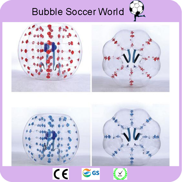 2018 Air Bubble Soccer Zorb Ball 0.8mm PVC 1.2M 1.5M 1.7m Air Bumper Ball Adult Inflatable Bubble Football Bumper Ball on Sale