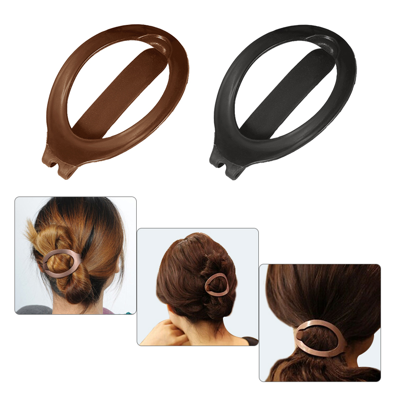 iMucci 1pc women soft plastic hair clip Fashion Gift for Girls and Ladies