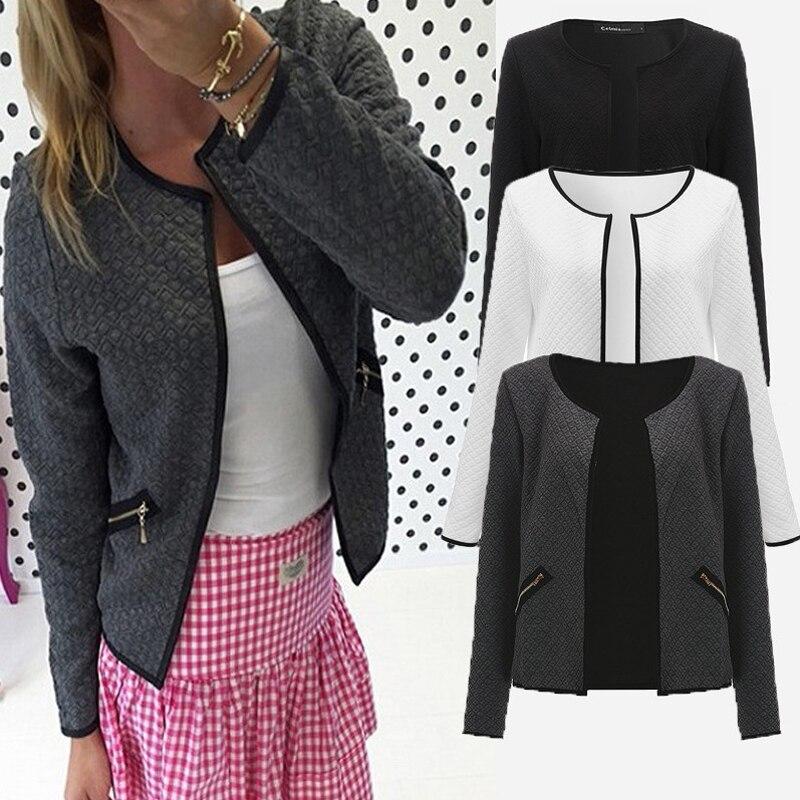 חצר גדולה סתיו משובץ נשים דק מעילי קצר מעיל מקרית Slim ארוך שרוול טרייל סוודרים 2018 אופנה נקבה להאריך ימים יותר חליפות