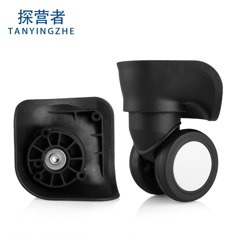 Rubber Wheel Trolley luggage trunk caster accessories wheel maintenance password suitcase luggage slippery wheel accessories