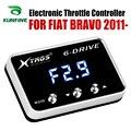 Corrida Controlador Booster Potent Acelerador Acelerador Eletrônico velocidade do carro Para FIAT BRAVO 2011-2019 Peças Tuning Acessório