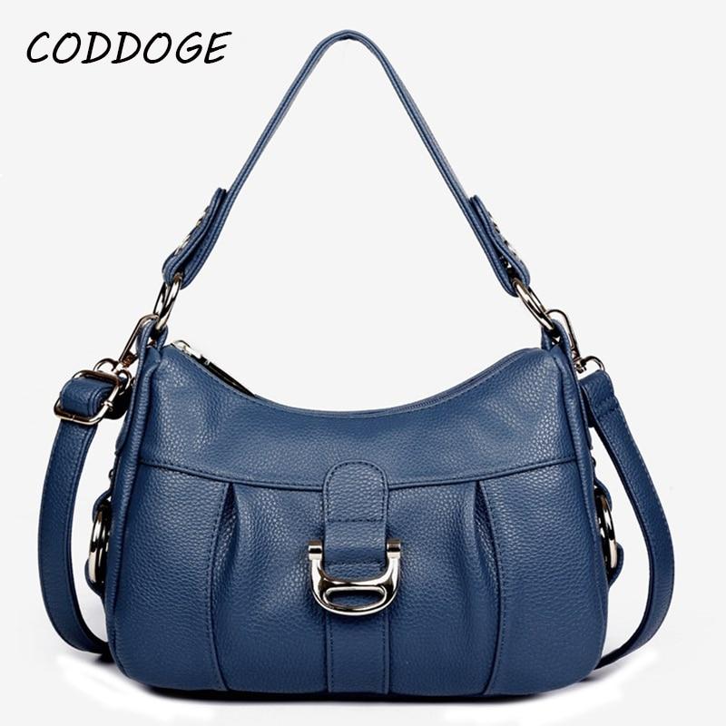 NEW Genuine Leather Women Handbag Fashion Bag Second Layer Cowhide Leather Women Shoulder Bag Women Crossbody Bag Lady Tote Bags