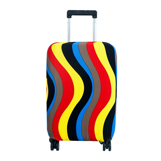 Fashion Elastic Travel Luggage Cover Protective Suitcase cover Trolley case Travel Luggage Dust cover for 18 to 28 inch Luggage Covers