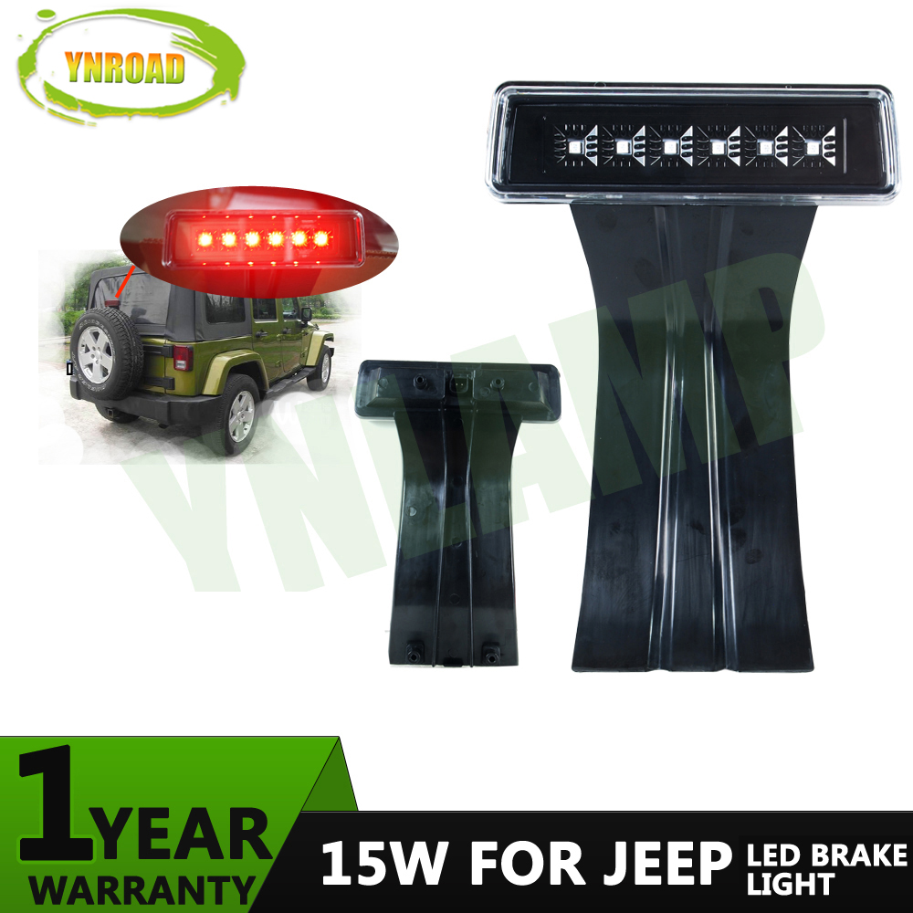 YNROAD 15W Tail  Brake Third Light Third Brake Lamp  For Jeep Wrangler  2007~2015 & Unlimited  6 LEDs ultimate body paint body makeup airbrush kit with 6 airbrushes and 12 custom body colors and airbrush holder