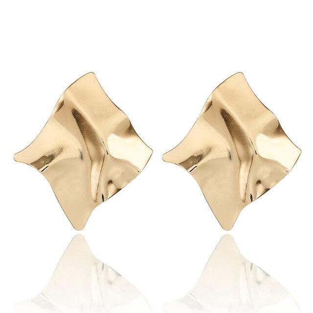 Fashion Statement Earrings 2018 Big Geometric earrings For Women Hanging Dangle Earrings Drop Earing modern Jewelry 5