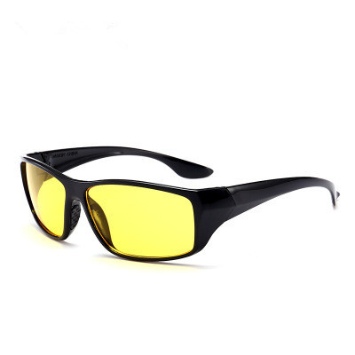 New Sunglasses Night Vision Sunglasses Men Fashion Polarized Night Driving Enhanced Light Glasses Free Shipping