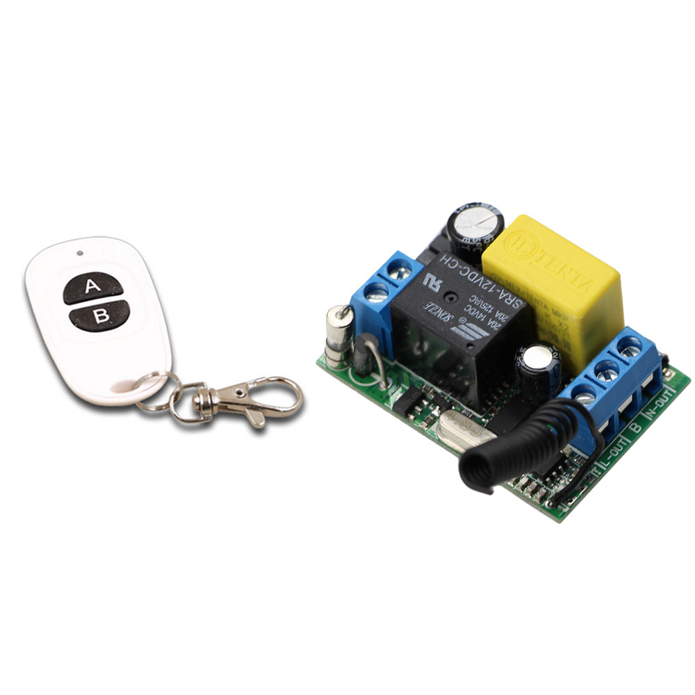AC220V Wireless Remote Control Switch 1CH Relay Module Receiver Transmitter LED Lamp Lighting Power ON OFF Smart Home 315/433Mhz small ac220v remote control switch long range transmitter receiver 200 3000m lamp light led remote lighting switch 315 433 92mhz