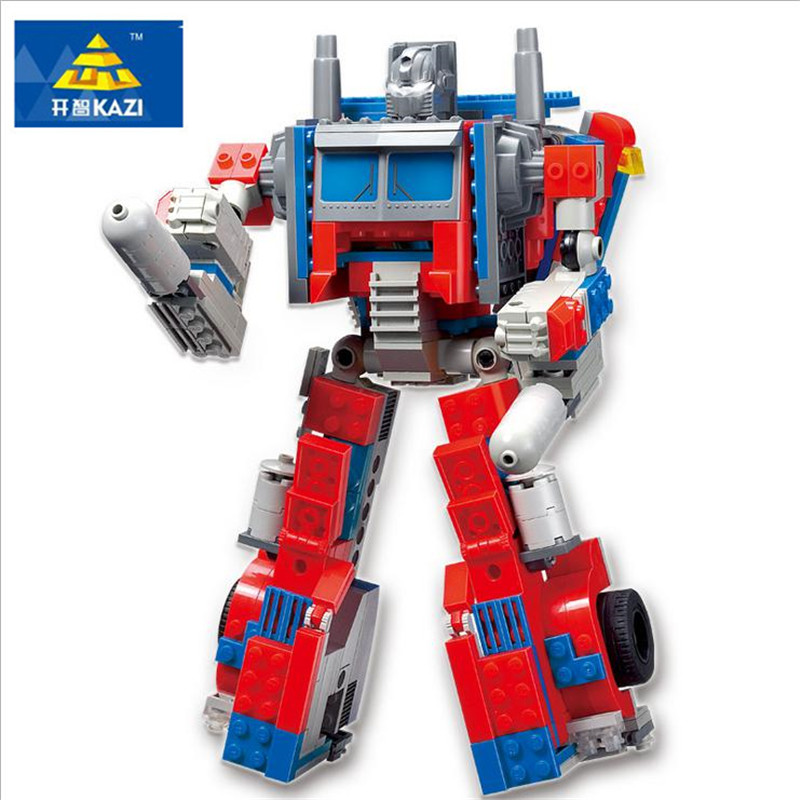 2017 384PCS Transformation Robot 2 In 1 Trans Robot Truck Building Blocks Children Xmas Gifts Classic Toys Compatible KAZI 8023 kurdish ethno political transformation in turkey