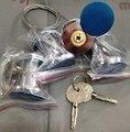 35mm a 45mm puerta de bloqueo de puerta de garaje puerta persiana puerta puerta cerradura con 2 llaves de emergencia cobber mecanismo de bloqueo