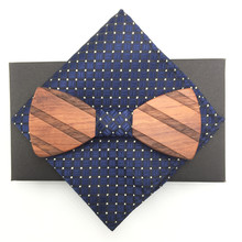цены pocket squares Wood Bow Ties Hardwood Handmade Personality Accessory Ties For Men Butterfly Gravata Wooden Bow tie