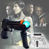 PS4 Fino Pro PS Move Motion Controller Shooting Gun Armas de Precisão de Tiro Arma Arma de Mão para Playstation 3 PS3 Tiro jogos