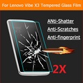 "0.26mm 2.5D Tempered Glass film for Lenovo VIBE X3 5.5"" Anti-shatter front Screen Protective protector films for Lenovo VIBE X3"