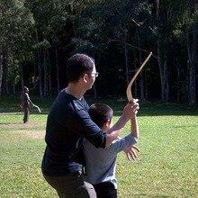 Кенгуру возврат V образный Бумеранг летающий диск бросать ловить игры на открытом воздухе