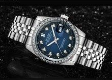 38 MM SANGDO reloj de los hombres movimiento Automático Auto-Viento relojes Mecánicos de Lujo de Alta calidad 331gg