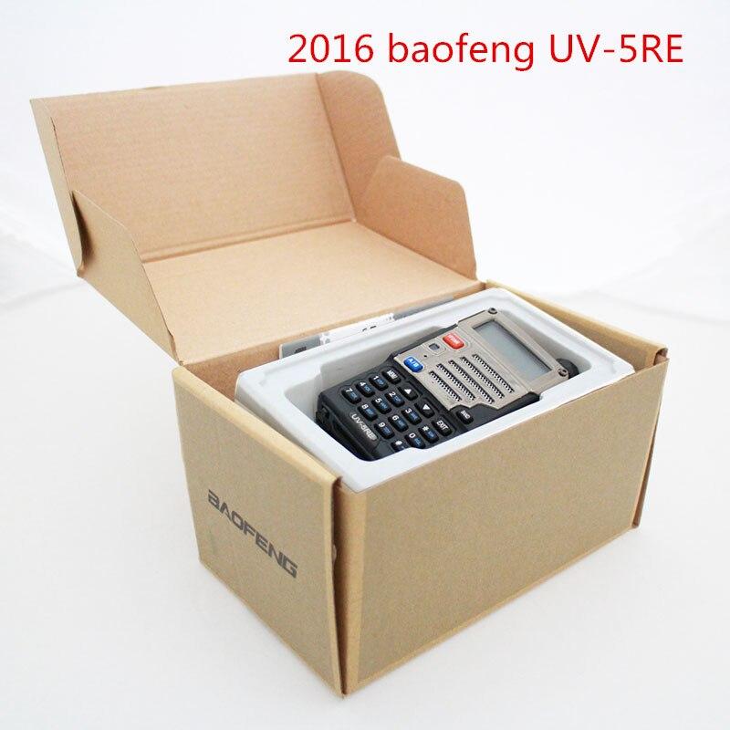 2016 BaoFeng UV-5RE Walkie Talkie 136-174 /400-520Mhz VHF/UHF DUAL-BAND Handy Hunting Radio Receiver With Headfone