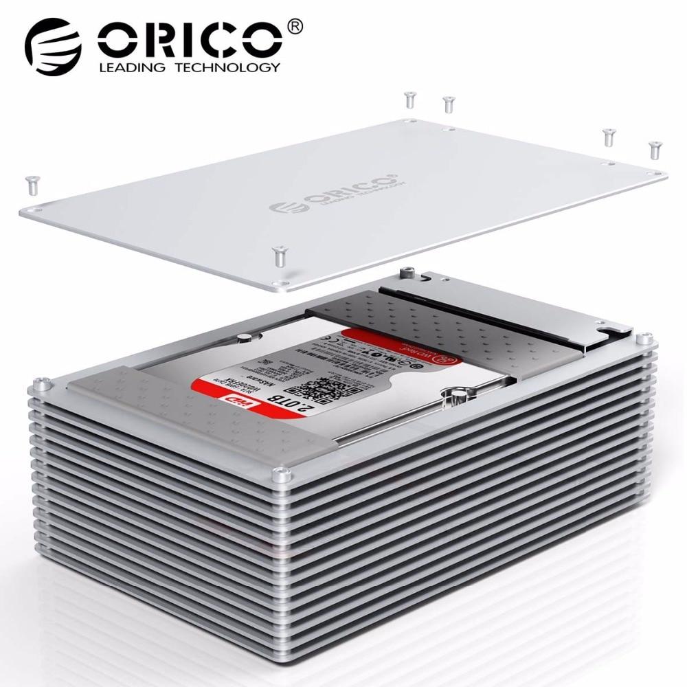 ORICO 2,5 de 3,5 pulgadas DIY caso HDD SATA a USB 3,0 SSD adaptador de alta velocidad de la caja de disco duro carcasa para samsung Seagate SSD 20 TB.