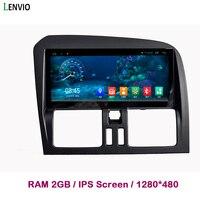 Lenvio 8,8 ips 2 Гб Оперативная память Android 7,1 автомобиль dvd радио GPS навигации плеер для автомобиля Volvo XC60 2009 2010 2011 2012 2013 2014 2015 2016