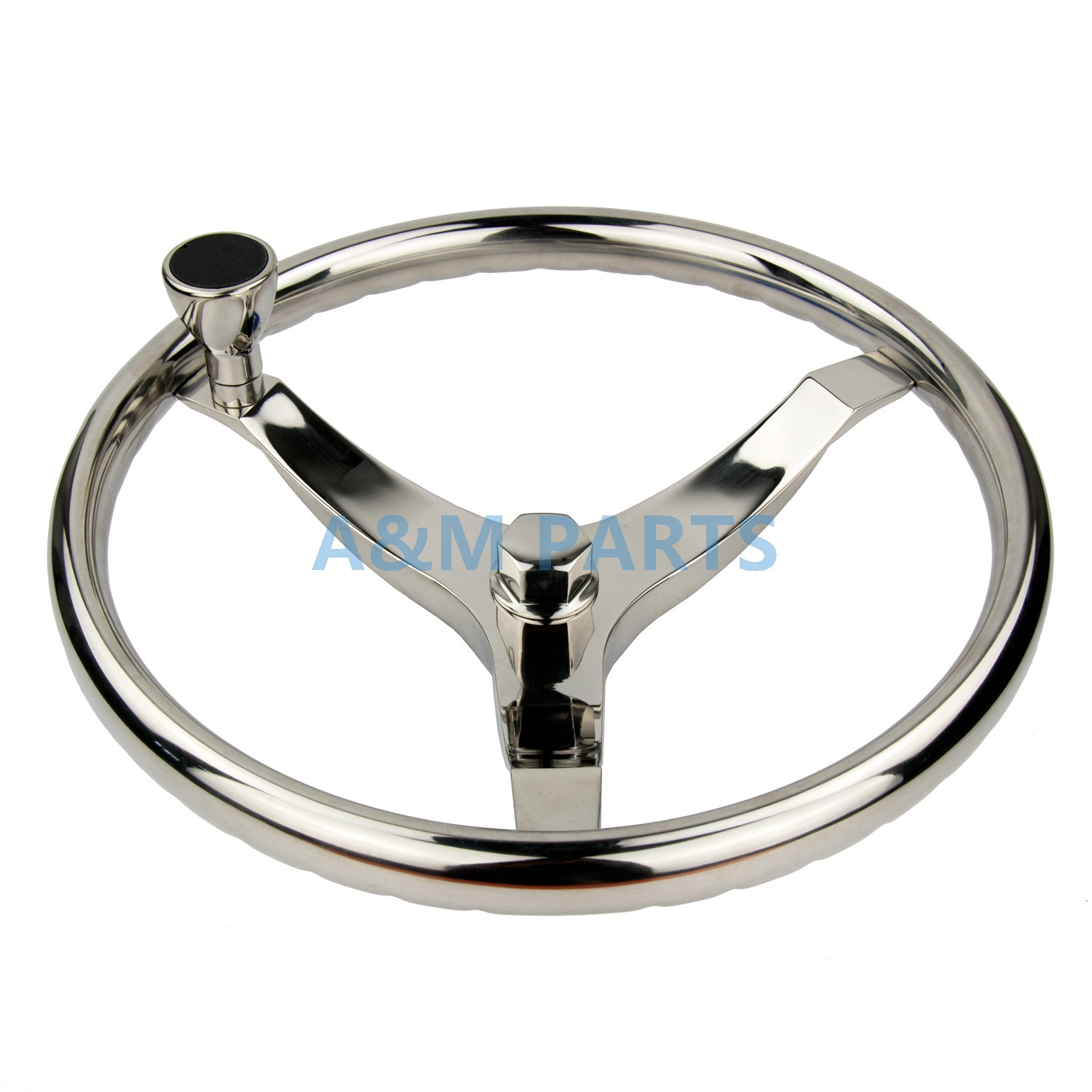 Stainless Steel Marine Boat Steering Wheel Knob for Boats