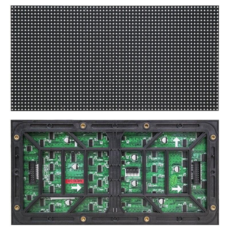 P4 affichage LED extérieur panneau étanche couleur écran panneau affichage LED extérieur module bannière smd1921 256*128mm 64*32 points