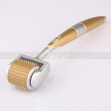 Профессиональный титановый ролик дермы 192 игл для лечения угрей и шрамов веснушек и выпадения волос сертификат CE