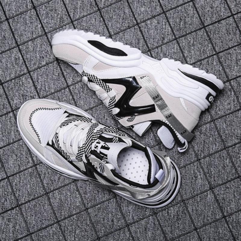 Deportivas Couleurs Nouvelles Femmes Mujer Mélangées 2 Chaussures 1 Sneakers Zapatillas up Casual Dentelle Plate forme 2018 7Hfywq