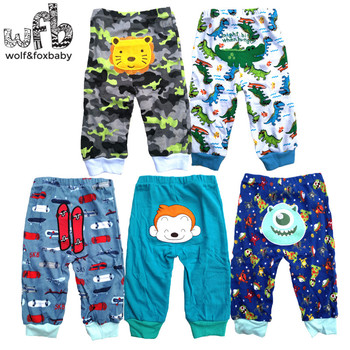Retail 5pcs/pack 0-2years PP pants trousers Baby Infant cartoonfor boys girls Clothing 1